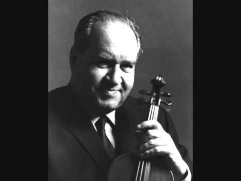 Brahms - Violin concerto - Oistrakh / Klemperer