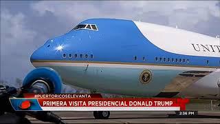 VISITA DE DONALD TRUMP A PUERTO RICO (RESUMEN, ARCHIVO)