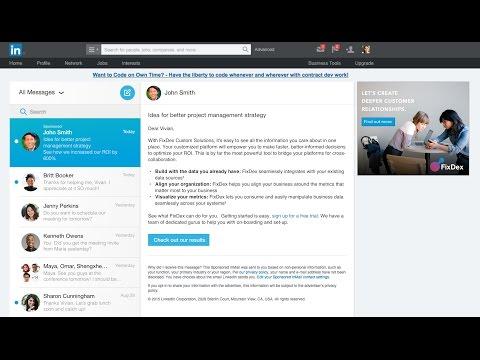Sponsored InMail | LinkedIn Marketing Solutions