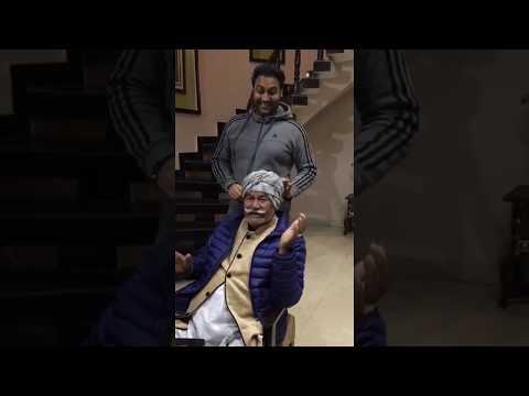 Ustad Puran Chand Wadali Ji & Lakhwinder Wadali (After Show At Home)