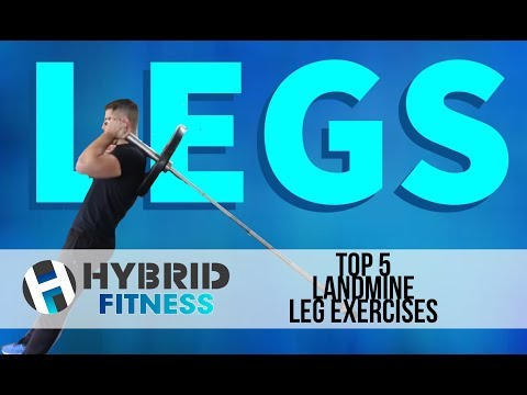 How To: Top 5 Landmine Leg Exercises | Have You Tried These??
