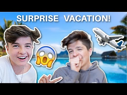SURPRISE TRIP WE ARE GOING TO... **DREAM VACATION**