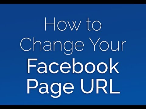 Know How to Change Your Facebook Url in 2017