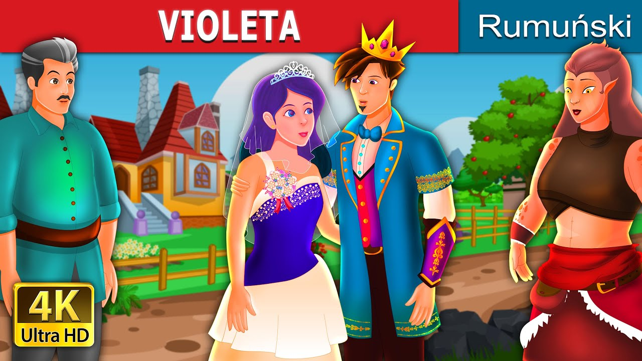 VIOLETA | Violet Story | Povesti pentru copii | Romanian Fairy Tales