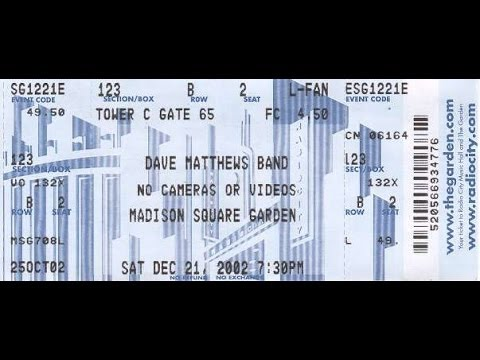 Dave Matthews Band - Get Up (I Feel Like Being A) Sex Machine (Ft. James Brown) [Live]