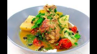 Куриные ножки с овощами / Chicken legs with vegetables