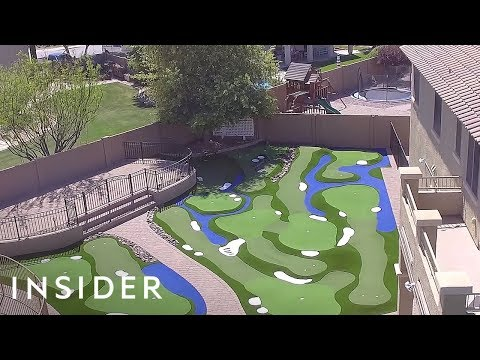 How To Install A Mini Golf Course In Your Backyard