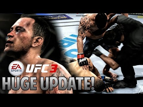 HUGE UPDATE! EA UFC 3 JUST GOT EVEN BETTER WITH THIS PATCH!! (Colby Covington Gameplay)