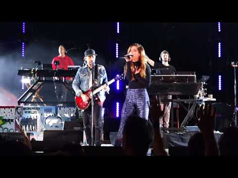 Linkin Park - Waiting for the End (feat. Sydney Sierota) @ Hollywood Bowl, LA, 10/27/2017