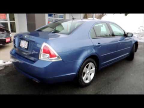 OVERVIEW   16094B Ford Fusion SE 4Dr Aut Blue Bathurst Honda As Traded 2009