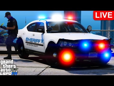 GTA 5 LSPDFR Police Mod 459 Los Santos County Sheriff Pack   Playing As A Cop In Grand Theft Auto V