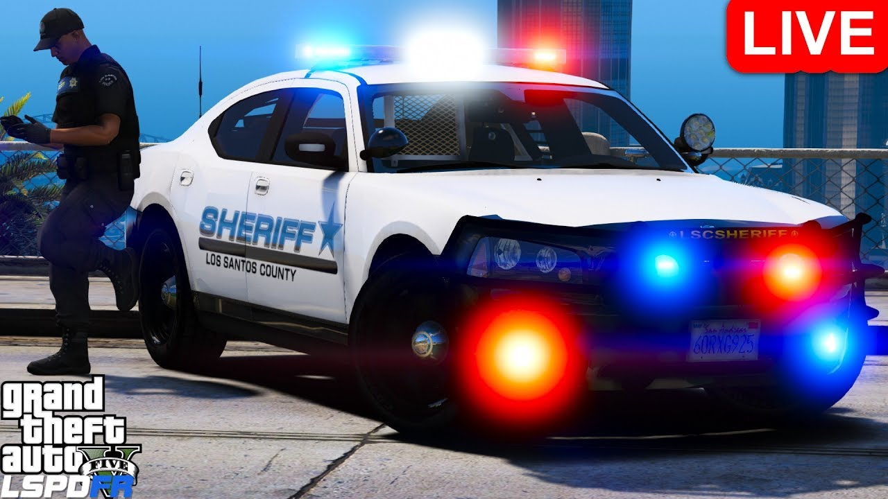 GTA 5 LSPDFR Police Mod 459 Los Santos County Sheriff Pack | Playing As A  Cop In Grand Theft Auto V