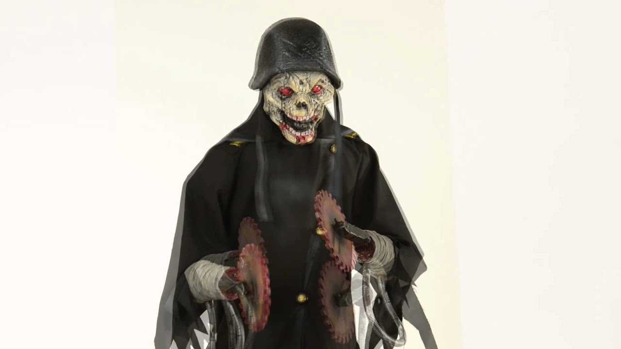 Animated Zombie Solr Spirit Halloween You