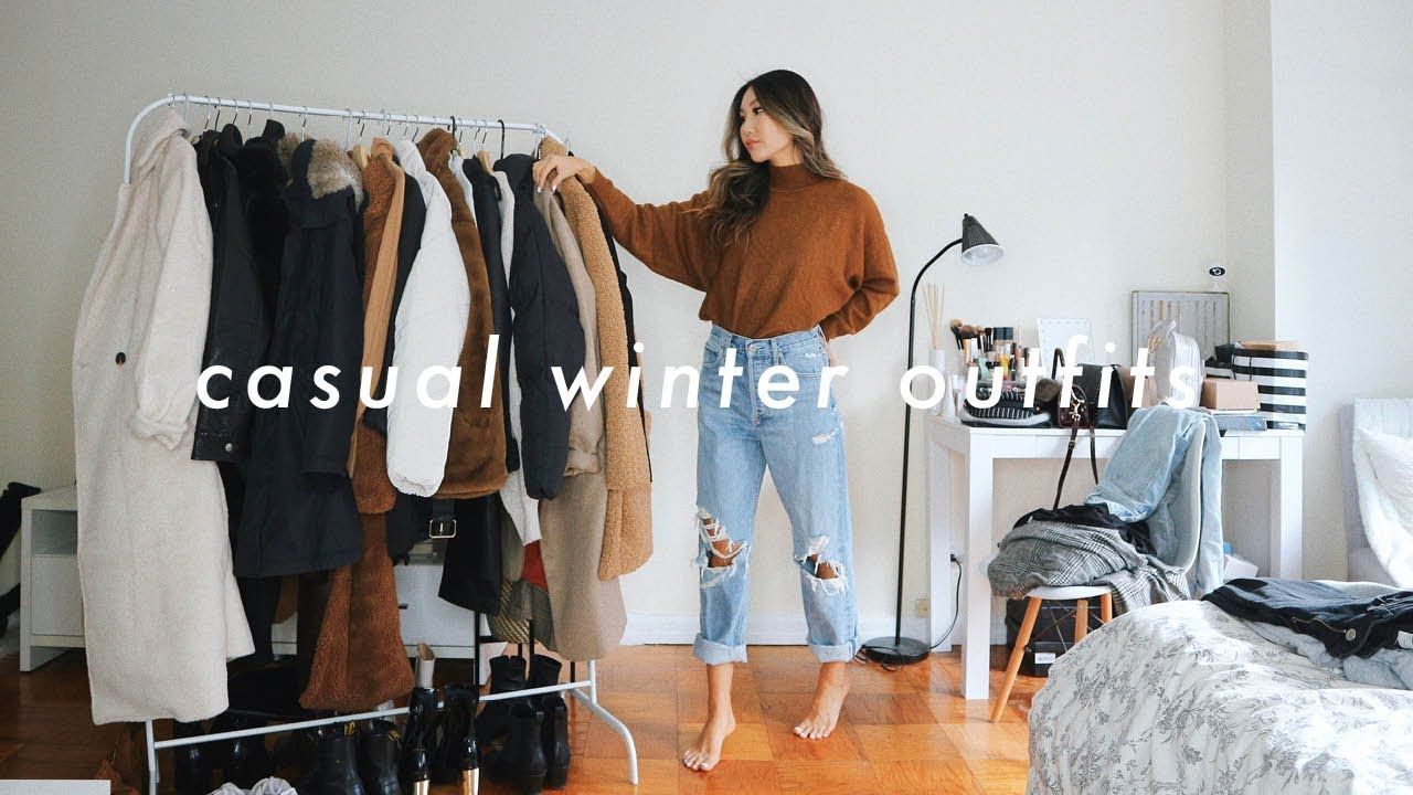 [VIDEO] - CASUAL WINTER OUTFITS ❄️| winter fashion lookbook 1