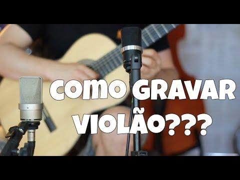 Como Gravar ou Profissionalizar sua Gravação de Violão??? por Fabio Lima