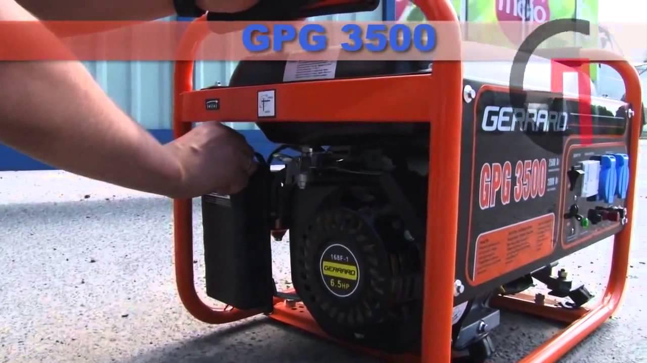 Бензиновый генератор gerrard gpg3500 стабилизатор напряжения штиль r 600st