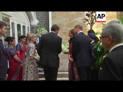 UK Royals visit Mumbai attack memorial