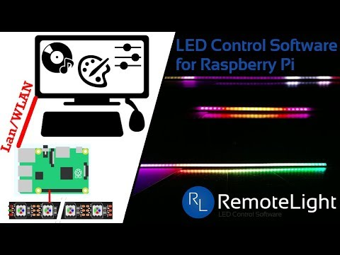 How To Install LED Control Software For Raspberry Pi   RemoteLight V0.1.0