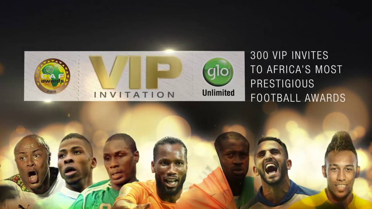 Download Win a seat among the stars at the Glo CAF Awards 2016.