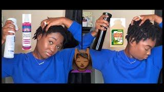 What's In My Spray Bottles??? | Moisturizing My Starter Locs | Naomi Onlae