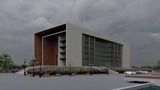 Exterior Design of Architecture Building - Specico Studio