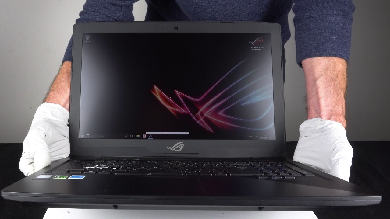 ASUS ROG Strix GL503 | Quick Unboxing & First Look | CUKUSA