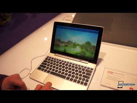 Huawei MediaPad 10 FHD With Keyboard Dock Hands-On