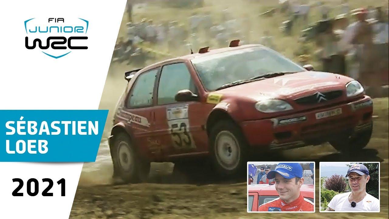 FIA Junior WRC 20 Years: Sébastien Loeb