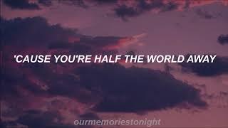 one direction - half the world away // lyrics