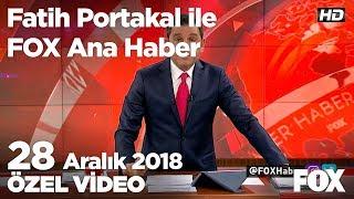 İşçi yüzde 28 zam istiyor belediye yüzde 26 veriyor! 28 Aralık 2018 Fatih Portakal ile FOX Ana Haber
