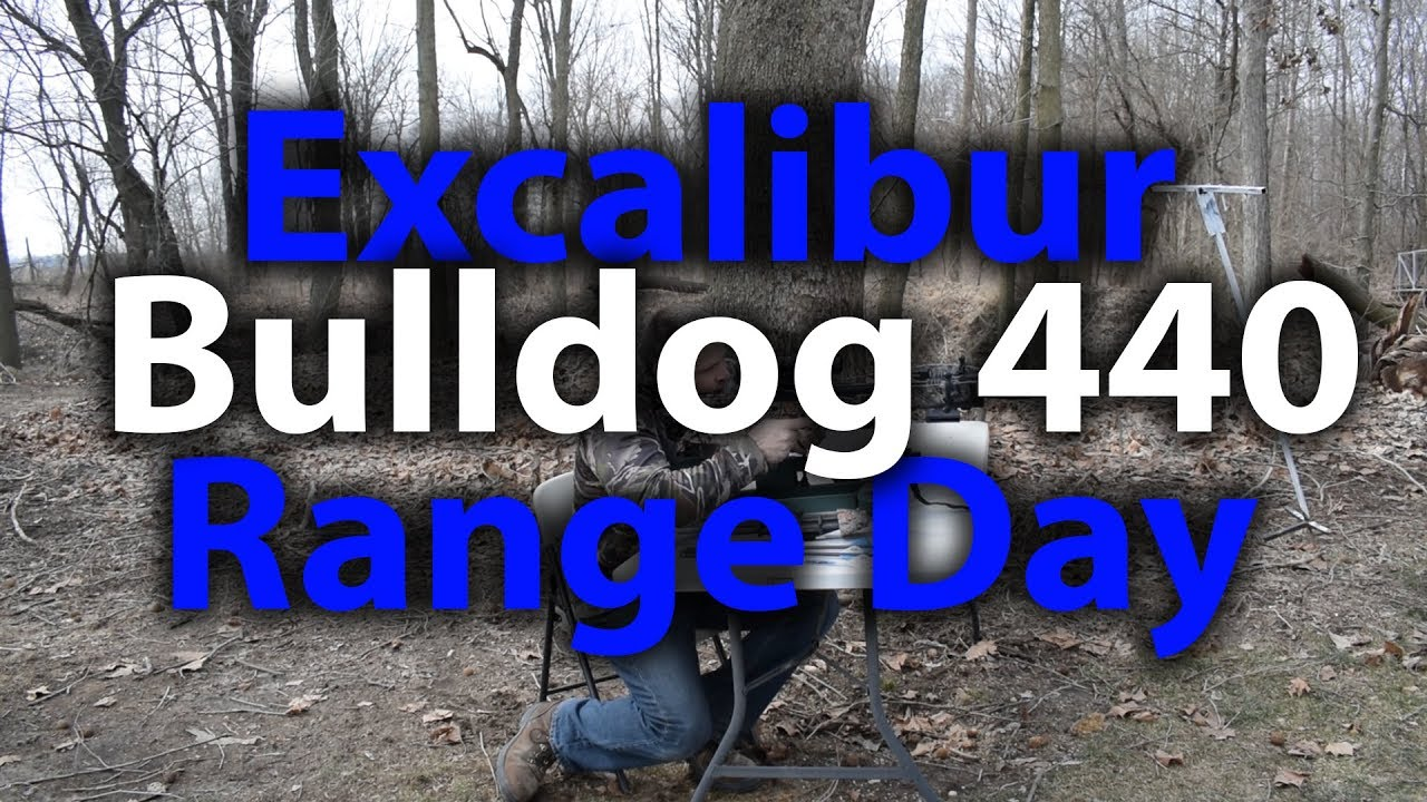 Range Day with the Excalibur Bulldog 440 and Custom Bolts