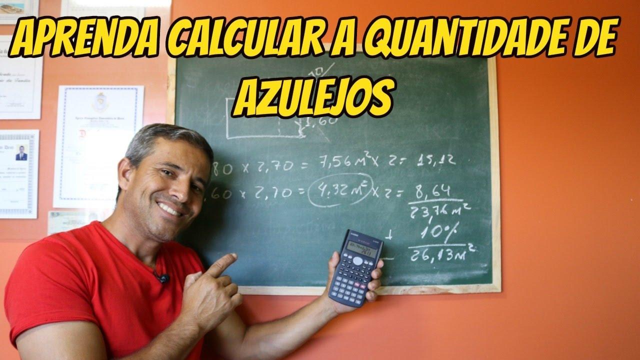 APRENDA CALCULAR A QUANTIDADE DE AZULEJO BANHEIRO PARTE