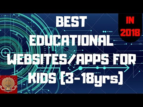 FREE APPS FOR KIDS TO LEARN/BEST EDUCATIONAL WEBSITES FOR KIDS IN 2018/ BEST APPS TO LEARN
