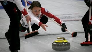 CURLING:  CAN-KOR World Junior Chps 2014 - Women Final