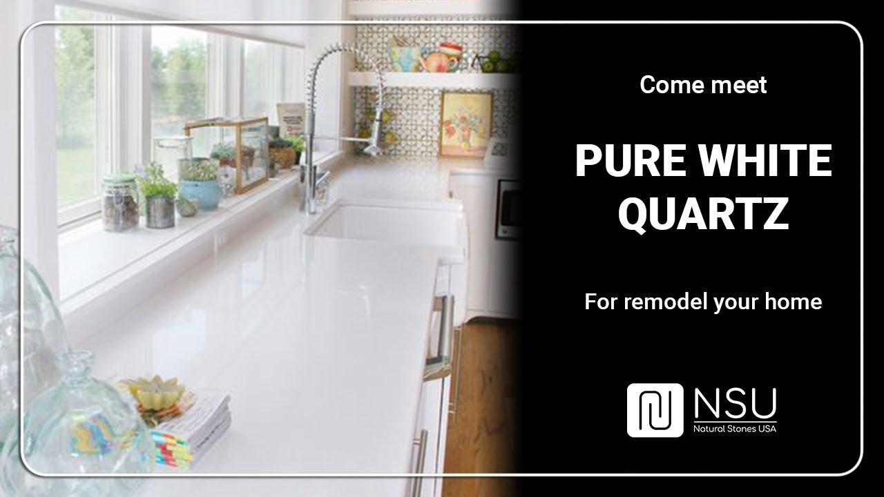 Pure White Quartz - NSU- Natural Stones USA