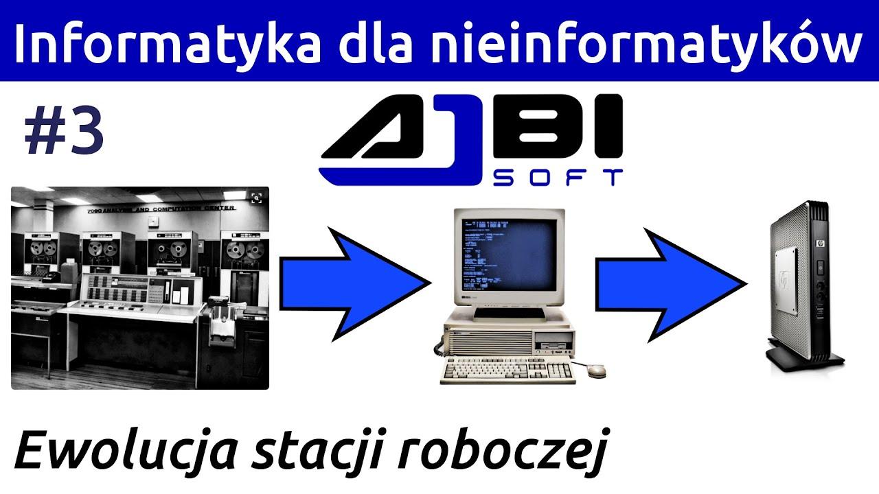 Czy przepłacasz za komputer? Historia i ewolucja stacji roboczej! Informatyka dla nieinformatyków #3