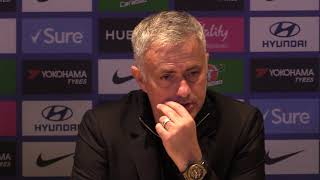 Jose Mourinho's press Conference after Chelsea draw