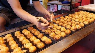 Amazing skill of Takoyaki Master / 타코야끼 달인 / korean street food
