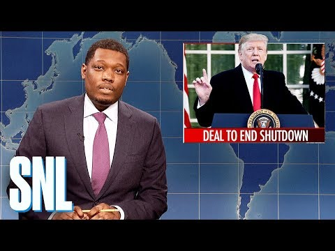 Weekend Update: Trump Announces Deal to End Shutdown - SNL
