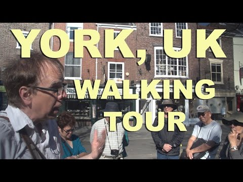 York, UK walking tour with local guide