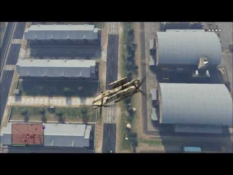 GTA 5 funny moments, stealing a tank wins...