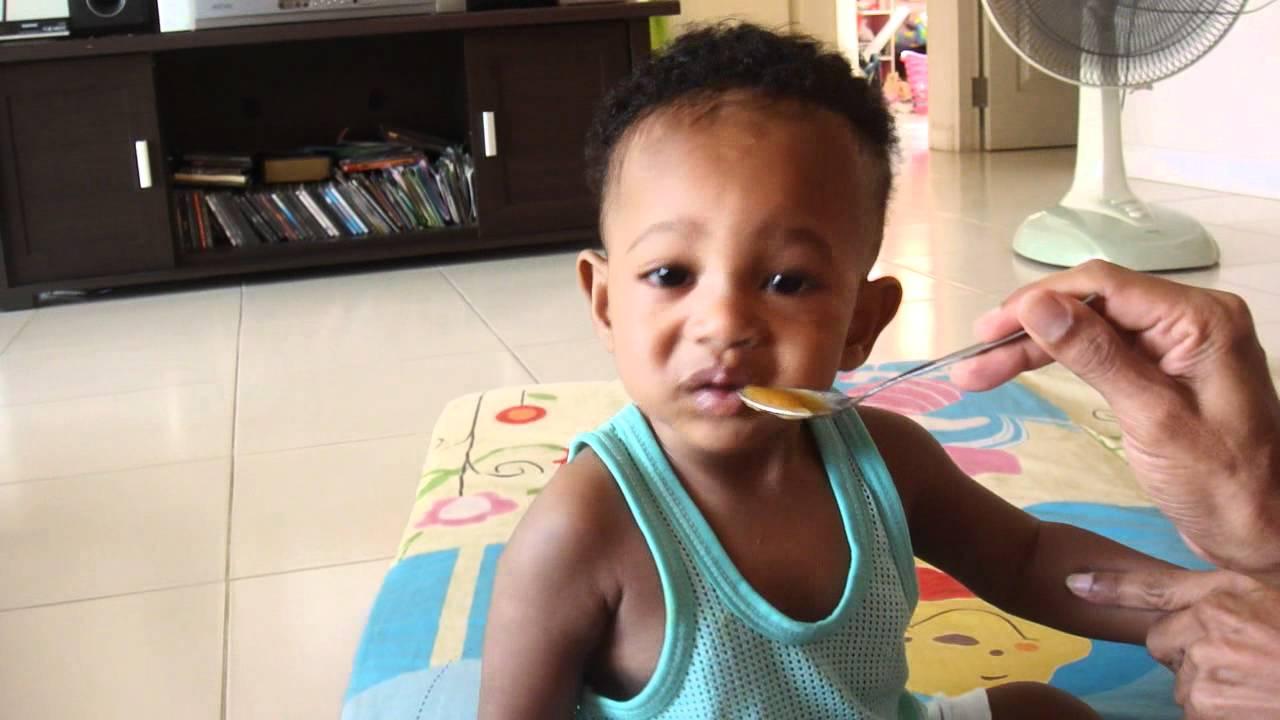 My Blasian Baby Boy Singha 9 Month I Hate Radish Youtube