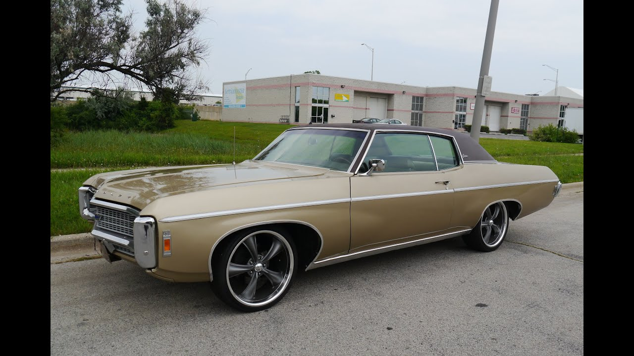 1969 Chevrolet Caprice Custom Coupe ***FOR SALE*** - YouTube