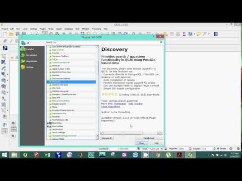 How to install plugins in QGIS software
