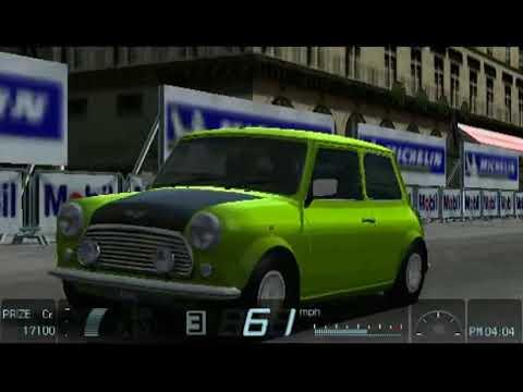 Gran Turismo (PSP) - Mini Cooper 1 3i '98 @ Opera Paris Reverse (2 laps)