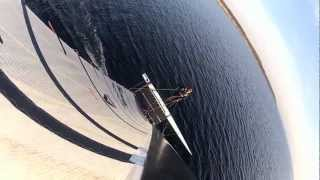 A-Class catamaran sailing - Wismar Bay October 2012 (GoPro Hero 2)
