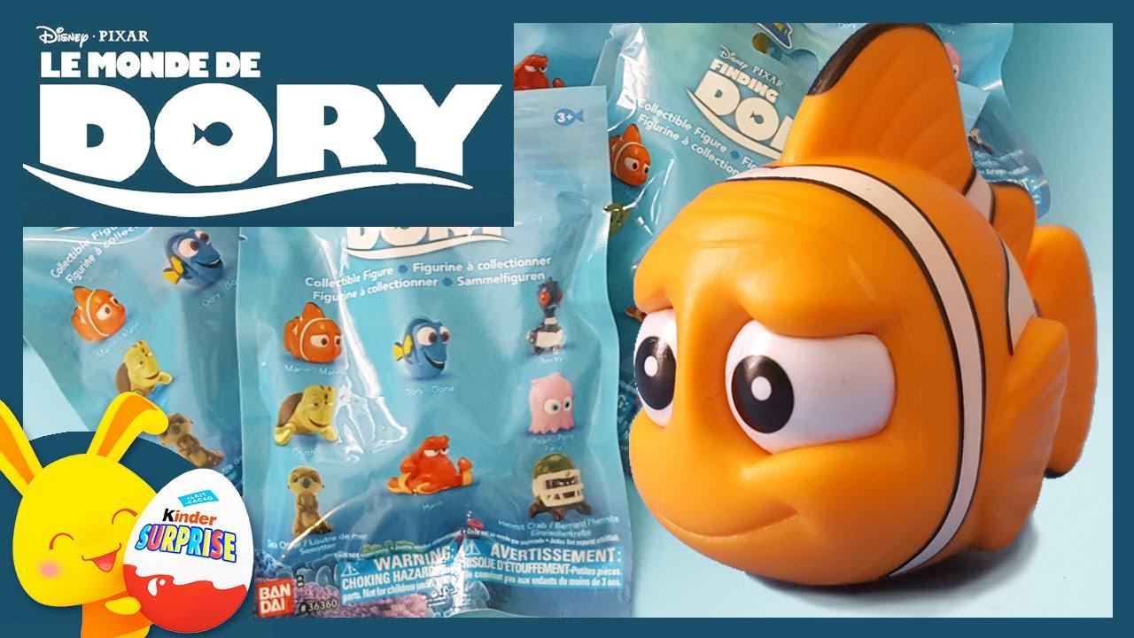 Download Le monde de Dory - Nemo - Pochettes surprises du dessin animé Pixar Disney - Touni toys