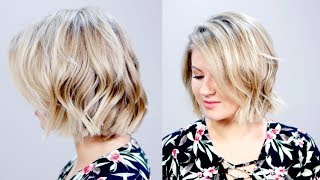 Hairstyle Of The Day: How To Style SHORT HAIR in Less Than 5 Minutes | Milabu