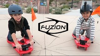 FUZION SPINNER SHARK KNEEBOARD | BEST KID TOY SCOOTER | PHILLIPS FamBam Fuzion Scooters