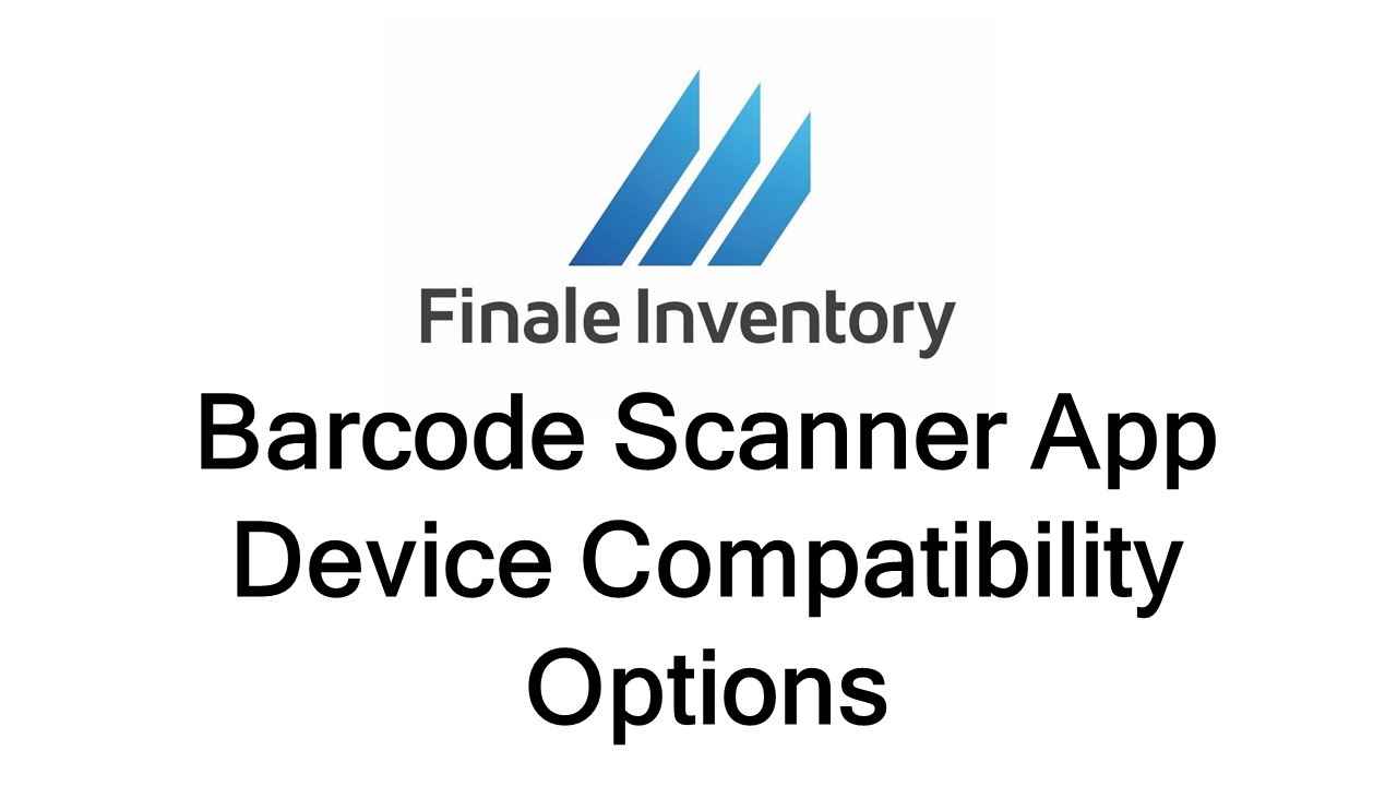 Barcode Scanner Hardware Options | Finale Inventory